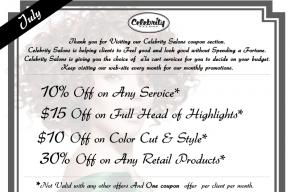 Promo flyer image with detail