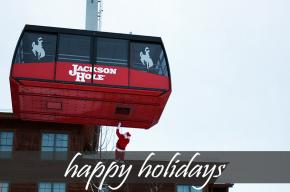 Image of ski lift with the text
