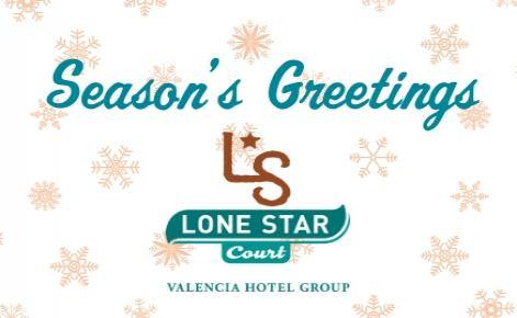 Image of Lone Star Court logo and the text