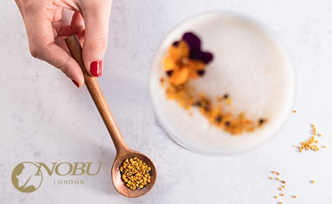 Gift card image of a cocktail with the Nobu London logo