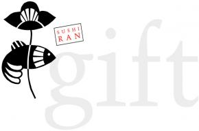 Sushi Ran logo with the text