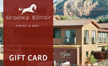 Image of Sedona Rouge exterior with the text