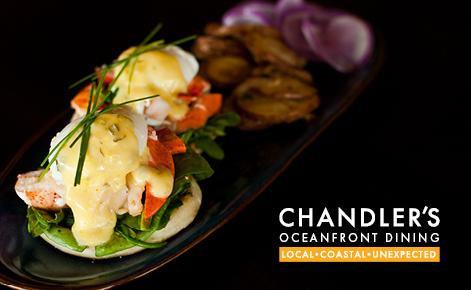 Chandlers Physical Gift Card Image with food image