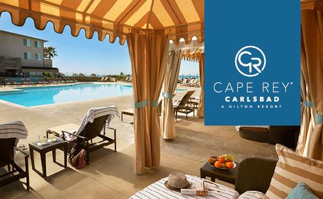 Cape Rey Gift Physical Card Image with pool shot