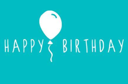 Happy Birthday where the