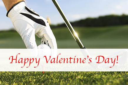 Golf image with the text