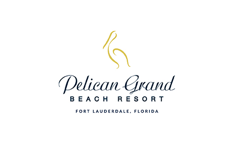 Gift card image of the Pelican Grand Beach Resort logo on a white background
