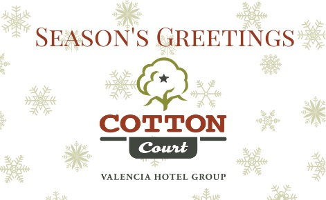 Cotton Court Hotel eGift with snowflakes