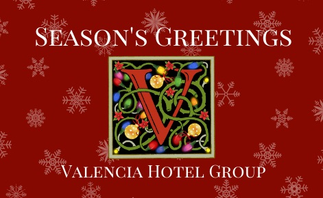 Valencia Hotel Group Holiday Logo eGift