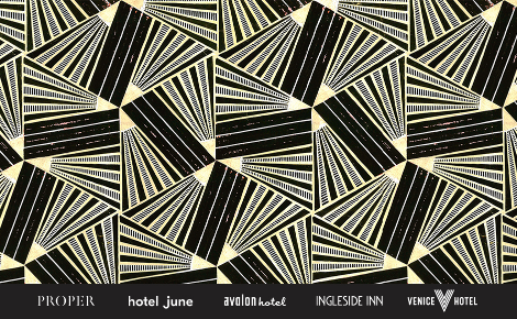 Gift card image with the hotel logos
