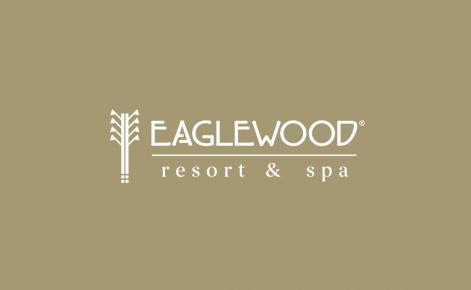 Eaglewood Logo on Gold Background